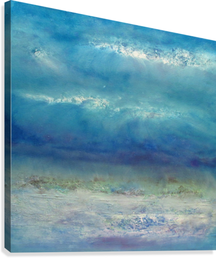 Infinity Beyond The Blue  Canvas Print