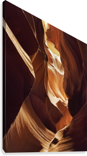 Antelope Canyon 1  Canvas Print