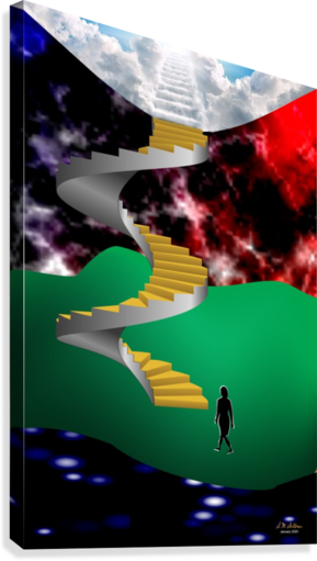 1-Stairway to Heaven  Canvas Print