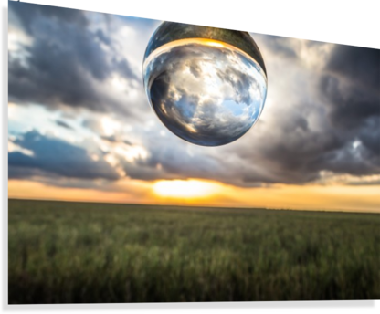 Lens Ball  Canvas Print