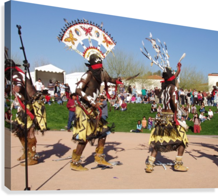 Apache Indian dancers