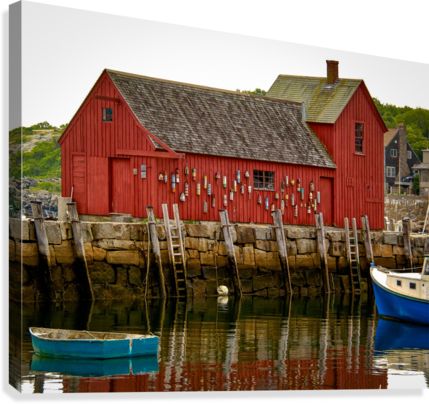 Motif Number 1 - Rockport MA  Canvas Print