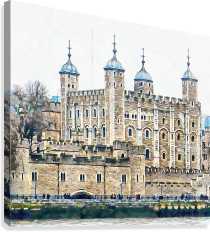 Tower of London 2  Canvas Print
