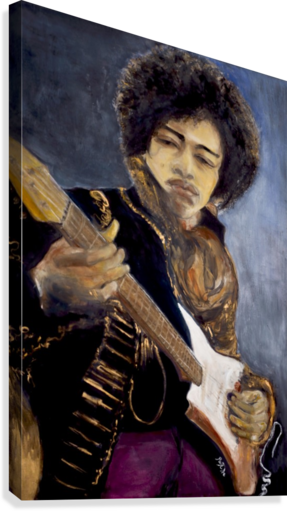 Jimi_High_Res  Canvas Print