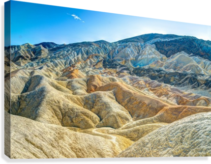Death Valley Waves  Canvas Print