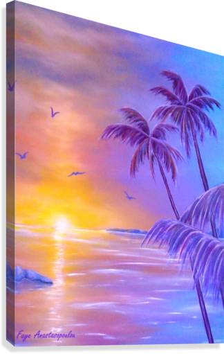 Tropical Breeze  Canvas Print