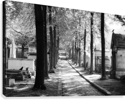 Pere-Lachaise keepers  Impression sur toile