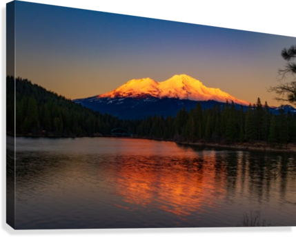 Image result for image mt shasta sunset