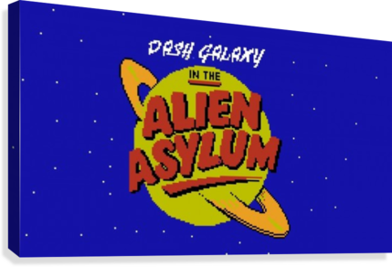 alien asylum  Canvas Print