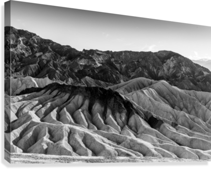 DEATH VALLEY ZABRISKIE 1 LETS GET LOST IMAGES  Canvas Print