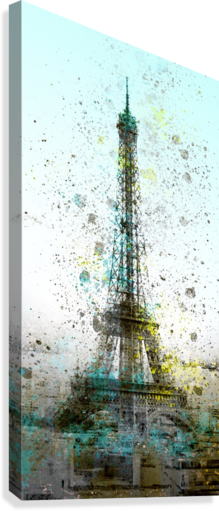 City-Art PARIS Eiffel Tower II  Canvas Print
