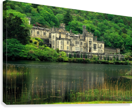 G 021 Kylemore Abbey  Canvas Print