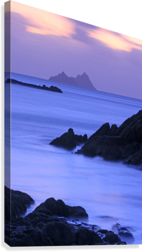 KY 281 Ballinskelligs Bay _1549666038.67  Canvas Print