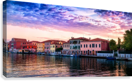 Murano Morning  Canvas Print