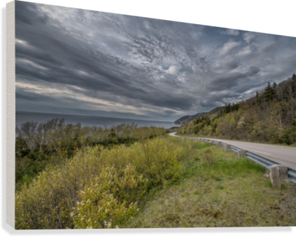 Springtime on the Cabot Trail  Canvas Print