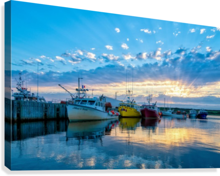 Ready for Crabbing  Canvas Print