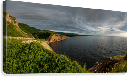 Cabot Trail View towards Cheticamp  Canvas Print