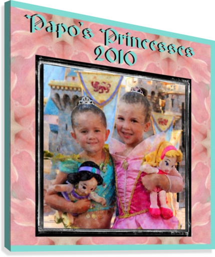 Papo's Princesses 2010  Canvas Print