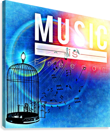 MUSIC_OSG ONE SIMPLE GALLERY  Canvas Print