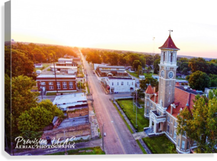 Clarendon AR | Monroe County Courthouse  Canvas Print