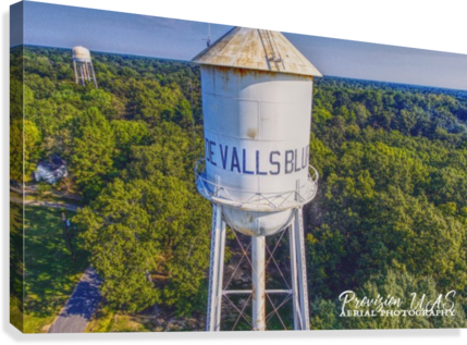 DEVALLS BLUFF, AR | WATER TOWER PROVISION UAS  Canvas Print