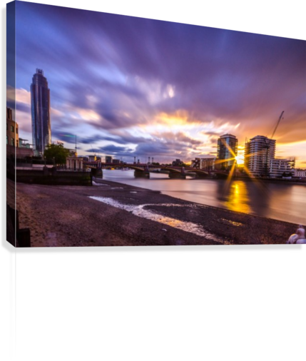 Vauxhall London  Canvas Print
