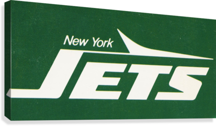 1981 new york jets reproduction artwork  Canvas Print