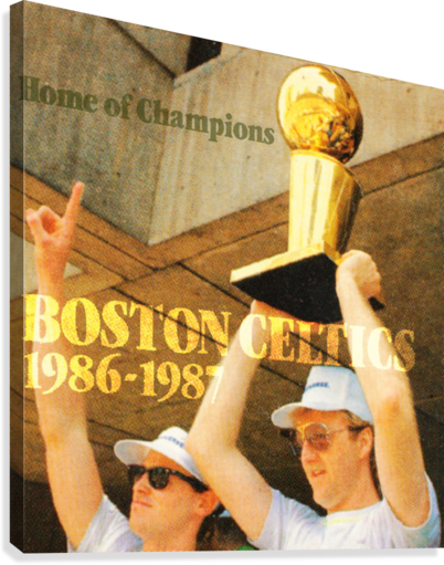 1986 Bird and McHale  Canvas Print