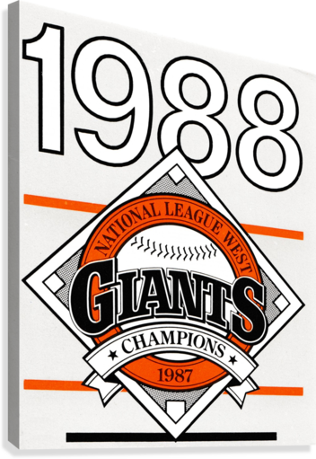 San Francisco Giants 1988  Canvas Print