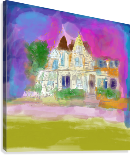 Victorian House at Cape May  Canvas Print