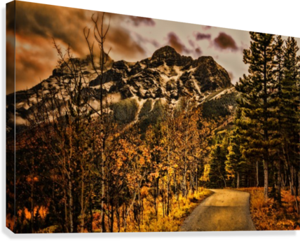 Rocky Mountain Way  Canvas Print