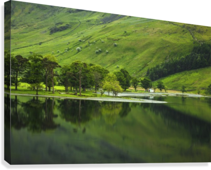 Green Peace, Buttermere, UK  Canvas Print