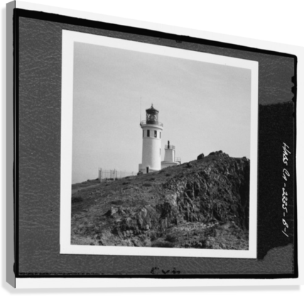 Anacapa Island Light Station, California  Canvas Print