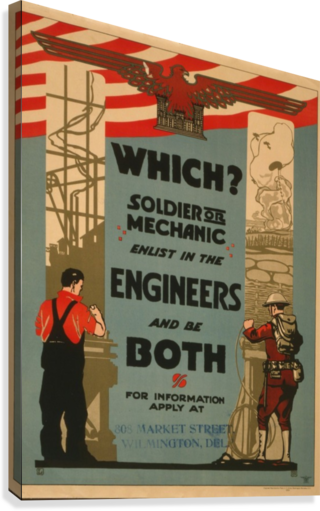 Engineers  Canvas Print
