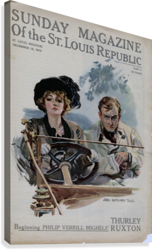 Sunday Magazine of the St Louis Republic  Canvas Print