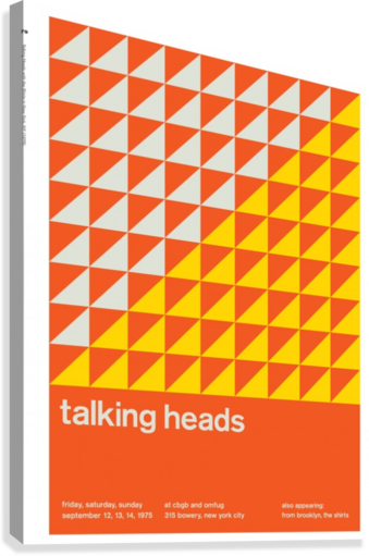 Talking heads  Canvas Print