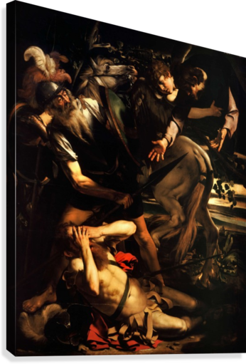 24x36 Caravaggio Art Poster The Conversion of St Paul