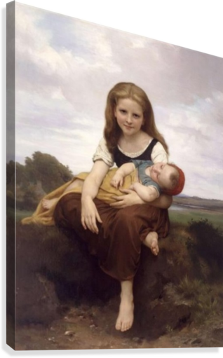 the elder sister by william bouguereau essay Life is art, and what better way to chronicle the goings-on in your life than in our art of life journal showcasing william-adolphe bouguereau's work of art, the elder sister there are 150 pages for journal entries.
