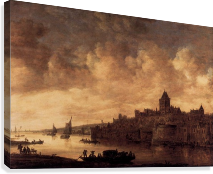 View of Nijmegen  Canvas Print