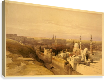 View of Old Cairo  Canvas Print