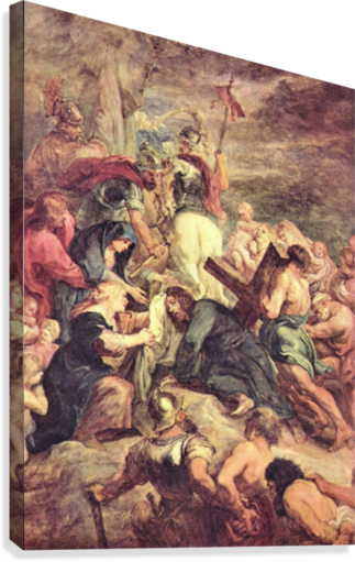 Crucifixion of Christ by Rubens  Canvas Print