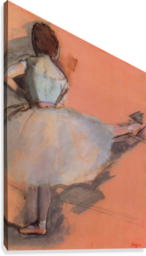 Dancer at the bar 1 by Degas  Canvas Print