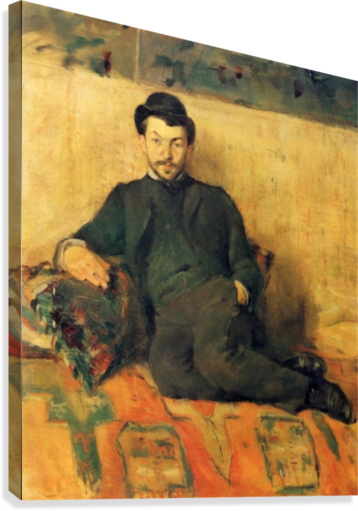 Gustave Lucien Dennery by Toulouse-Lautrec  Canvas Print