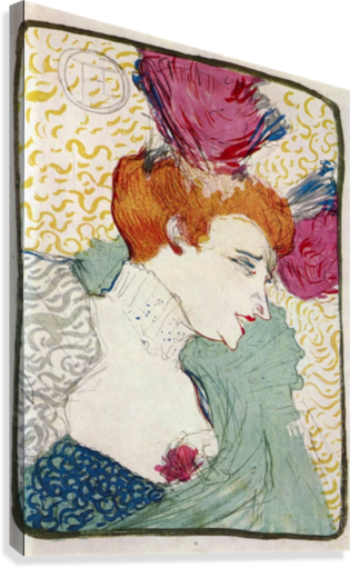 Marcellle Lender by Toulouse-Lautrec