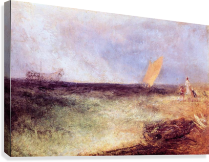 Outside of Ramsgate by Joseph Mallord Turner  Canvas Print