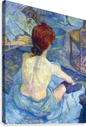 Rousse the Toilet by Toulouse-Lautrec