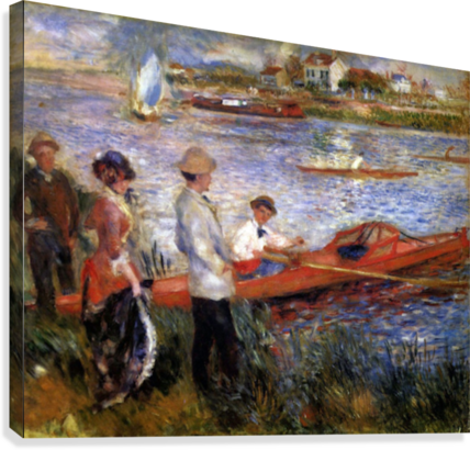 Rowers from Chatou by Renoir  Canvas Print