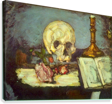 Skull by Degas  Canvas Print