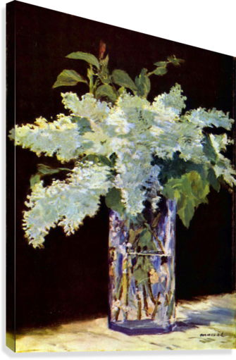 Still Life by Manet  Canvas Print