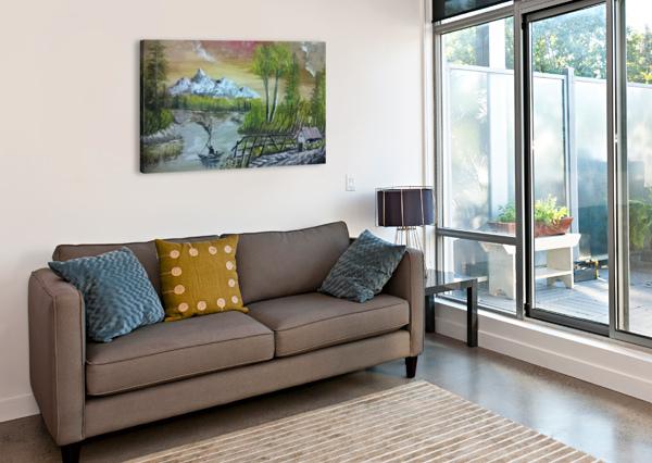 LOVELY SUNSET AHMAD ALMASRI  Impression sur toile